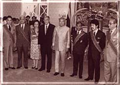 General Prem with Foreign Ministers of ASEAN