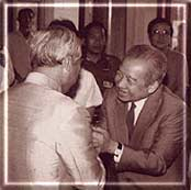 General Prem with Cambodia's Prince Sihanouk
